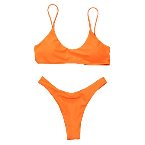 Alayna Bikini Set - Orange