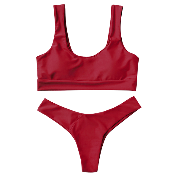 Darby Bikini Set - Red