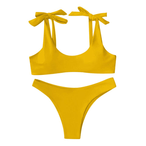 Joy Bikini Set - Yellow