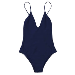 Willow One Piece - Deep Blue