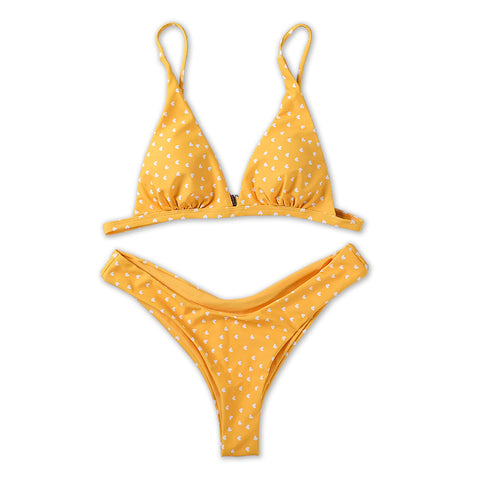 Kailey Bikini Set - Yellow