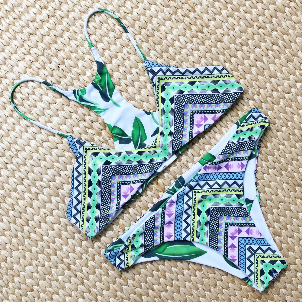 Palm Spring Reversible Bikini Set