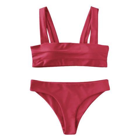 Gia Bikini Set - Red