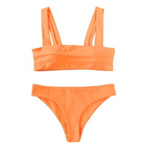 Gia Bikini Set - Orange