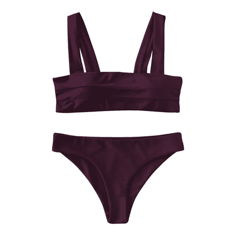 Gia Bikini Set - Dark Purple