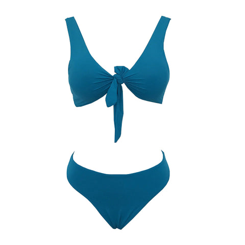 Myra Knotted Set - Teal
