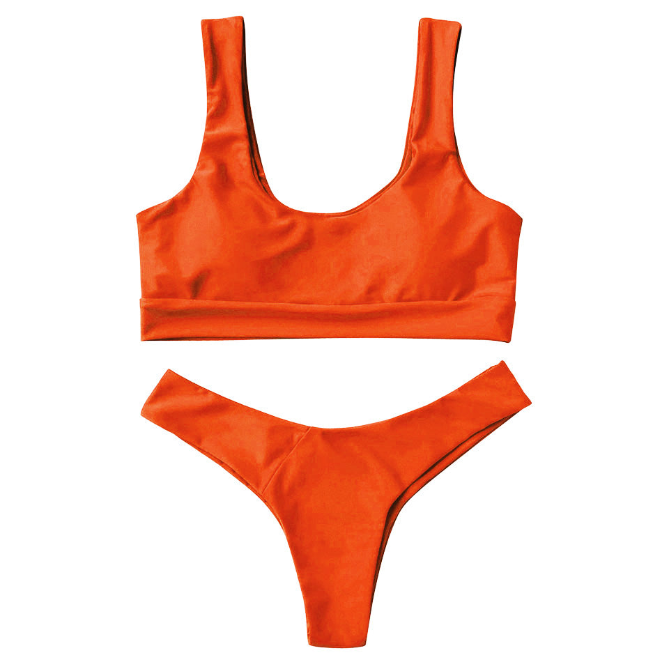 Darby Bikini Set - Orange