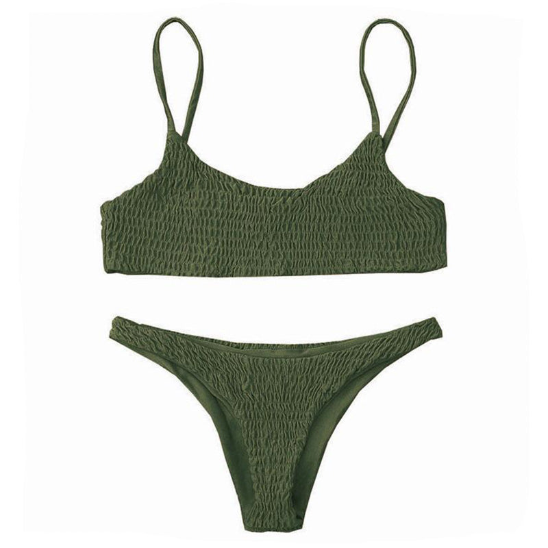 Celina Bikini Set - Forest Green