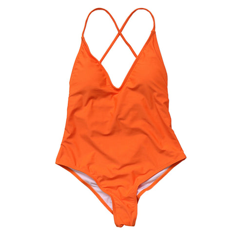 Sofia One Piece  - Orange