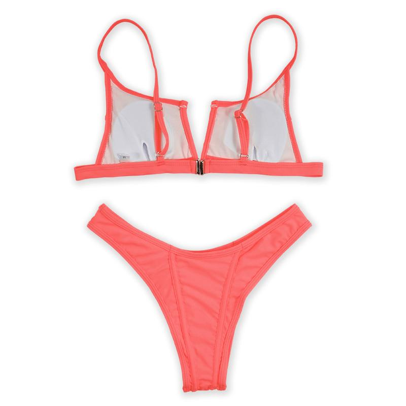 Betty Bikini Set - Deep Pink
