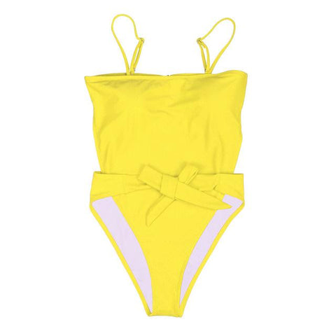 Marney One Piece - Yellow