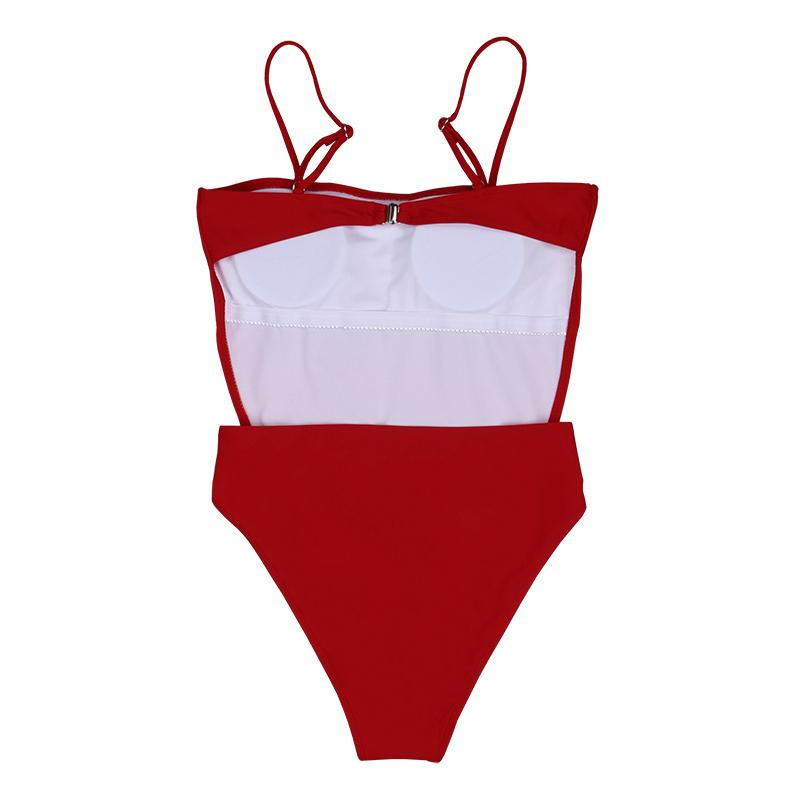 Marney One Piece - Red
