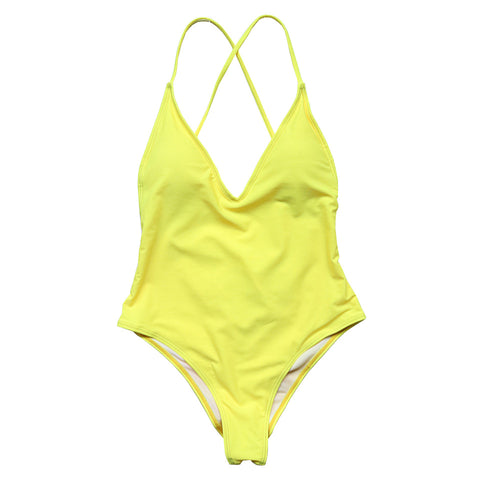 Sofia One Piece  - Yellow