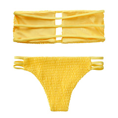 Megan Bikini Set - Yellow