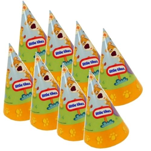 Little Tikes Animal Theme Party Hats (8 pack) only $1.00 at DollarFanatic.com America's First & Only Exclusively Online $1 Store.