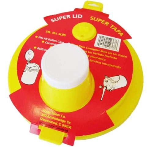 Case of 12 - Aqua-Tainer Super Lid (Fits All Gallon Paint Cans)