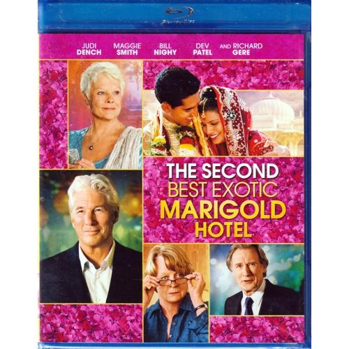 The Second Best Exotic Marigold Hotel (Blu-Ray Disc)
