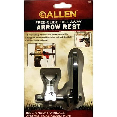 Free-Glide Fall Away Arrow Rest (Independent Windage & Vertical Adjustment) at DollarFanatic.com America's Exclusively Online Dollar Stores.