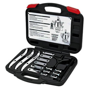 "6"" Combination 2/3 Reversible Jaw Gear Puller Kit 648648 (17 PC) Includes Storage Case"