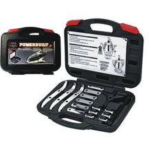 "Load image into Gallery viewer, 6"" Combination 2/3 Reversible Jaw Gear Puller Kit 648648 (17 PC) Includes Storage Case"