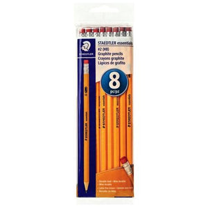 Staedtler Essentials #2 HB Graphite Pencils (8 Pack)