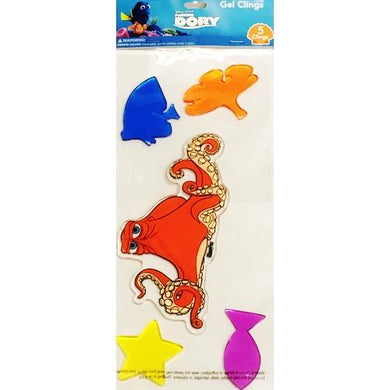 Disney Pixar Finding Dory 5-piece Gel Clings Set (Octopus Hank) 20% to 80% Off at DollarFanatic.com America's Online Dollar Store