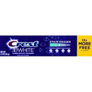 Crest 3D White Fluoride Toothpaste - Fresh Mint (2.3 oz.)