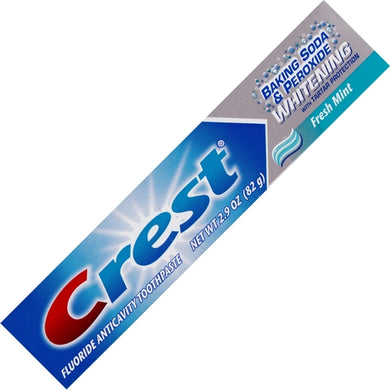 Crest Baking Soda & Peroxide Whitening Fluoride Toothpaste with Tartar Protection - Fresh Mint (Net wt. 2.9 oz.) ) 20% to 80% Off at DollarFanatic.com America's Online Dollar Store
