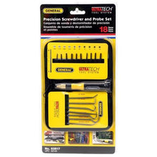 Load image into Gallery viewer, General 18-Piece Precision Multi-Bit Screwdriver & Probe Set (63517)