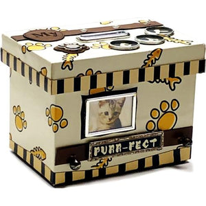 My Purr-Fect Cat Personalized Photo Frame Keepsake Coin Bank