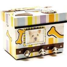 Load image into Gallery viewer, KeyPoint Man's Best Friend Personalized Photo Frame Keepsake Coin Bank (Dog)