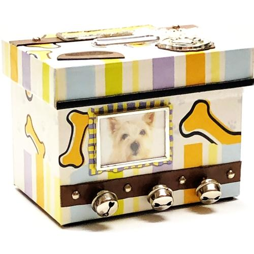 KeyPoint Man's Best Friend Personalized Photo Frame Keepsake Coin Bank (Dog)