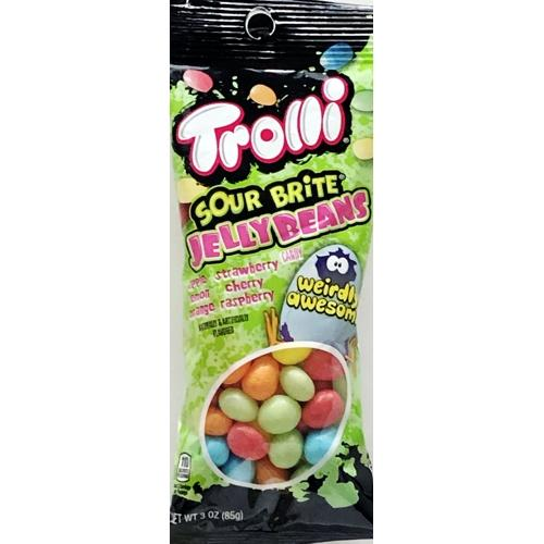 Trolli Sour Brite Jelly Beans Candies (Net Wt. 3 oz.)