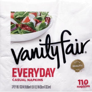 Vanity Fair Everyday Casual Napkins (110 count)