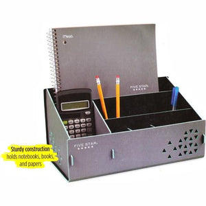 Five Star Multi-Compartment Desktop Organizer (Select Colors) at DollarFanatic.com America's Exclusively Online Dollar Stores.