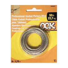Load image into Gallery viewer, Ook Professional Coated Picture Wire 50 lb. - 533947 (9 ft)