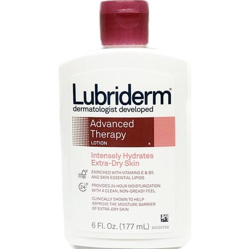 Lubriderm Advanced Therapy Lotion (6 fl. oz.) Intensely Hydrates Extra-Dry Skin