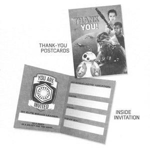 DesignWare Star Wars Join Us Party Invitations with Envelopes/Thank You Postcards (25 Pack)