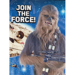 DesignWare Star Wars Join the Force Party Invitations with Envelopes/Thank You Postcards (25 Pack)