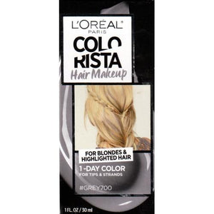 Colorista Hair Makeup 1-Day Hair Color Kit (Grey700) For Blondes & Highlighted Hair