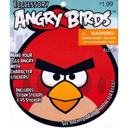 Angry Birds Eggcessory Egg Decorating Kit (54 Stickers)