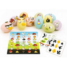 Load image into Gallery viewer, Angry Birds Eggcessory Egg Decorating Kit (54 Stickers)