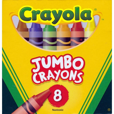 Non-toxic Jumbo Crayons (8 Pack) Preferred by Teachers! 20% to 80% Off at DollarFanatic.com America's Online Dollar Store