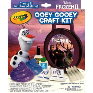 Disney Frozen Model Magic Ooey Gooey Slime Craft Kit (10-Piece Kit) For ages 5+