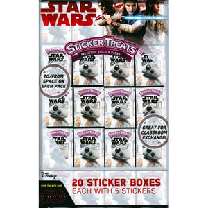 Disney Star Wars The Last Jedi Party Favor Sticker Treats (20 Pack) at DollarFanatic.com America's Exclusively Online Dollar Stores.