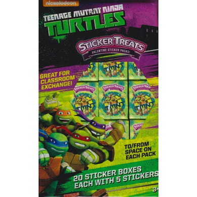 Nickelodeon Teenage Mutant Ninja Turtles Party Favor Sticker Treats (20 Pack) at DollarFanatic.com America's Exclusively Online Dollar Stores.