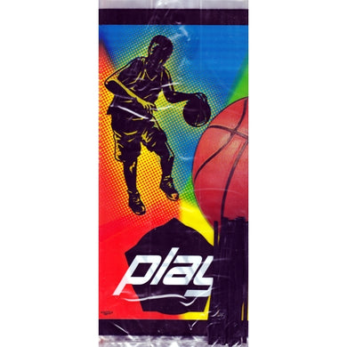 Basketball Play Plastic Cello Large Treat Bags & Ties (20 Pack) 20% to 80% Off at DollarFanatic.com America's Online Dollar Store
