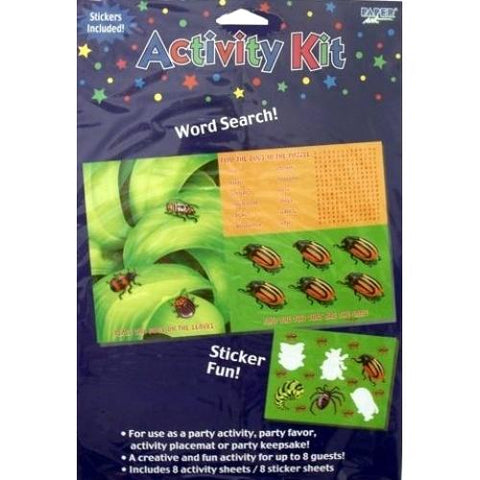 Bugs Everywhere Activity Kit (Enough for 8 kids per package) only $1.00 at DollarFanatic.com America's First & Only Exclusively Online One Dollar Store.