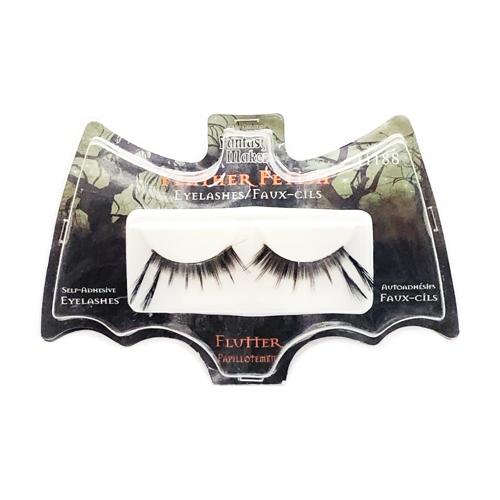 Flutter Feather Fetish Eyelashes - 11188 (1 Pair) Self-Adhesive