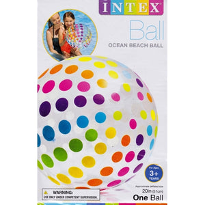 "20"" Beach Ball (Classic or Polka Dot) 20% to 80% Off at DollarFanatic.com America's Online Dollar Store"
